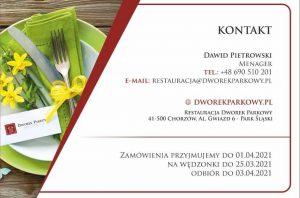 Wielkanoc 2021 catering